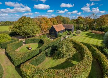 Thumbnail 4 bed barn conversion for sale in Packards Lane, Wormingford, Colchester