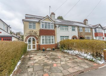 Thumbnail 4 bed end terrace house for sale in Manor Way, Banstead