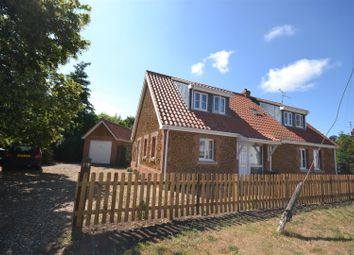 Thumbnail 4 bed property for sale in Chapel Road, Pott Row, King's Lynn