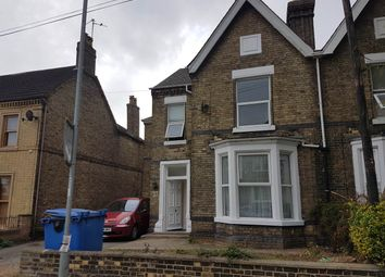 Thumbnail 1 bed flat to rent in Aldermans Drive, Peterborough