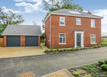 Thumbnail 4 bed detached house for sale in Burgh Common, Attleborough