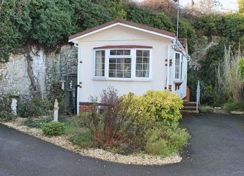 Thumbnail Mobile/park home for sale in Smugglers Leap, Mount Pleasant, Minster, Ramsgate