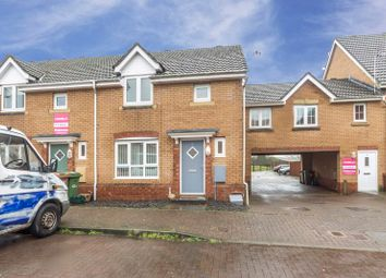 Thumbnail 3 bed end terrace house for sale in Small Meadow Court, Caerphilly