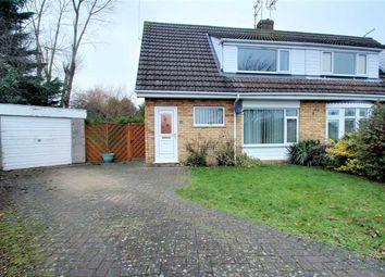 Thumbnail 3 bed semi-detached house for sale in Walnut Close, Waddington, Waddington, Lincoln