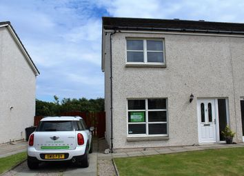 Thumbnail 2 bedroom semi-detached house to rent in Eigie Close, Balmedie, Aberdeenshire