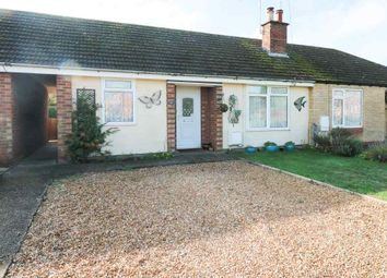 Thumbnail 2 bed terraced bungalow for sale in Olivia Road, Brampton, Huntingdon