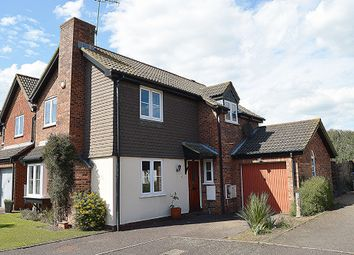 Thumbnail 3 bed detached house for sale in Creasey Close, Hornchurch