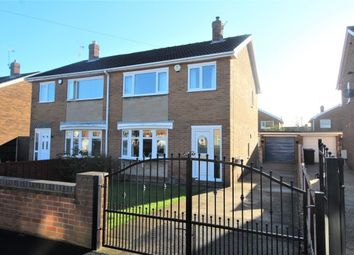 Thumbnail 3 bed semi-detached house for sale in Castle Close, Sprotbrough, Doncaster