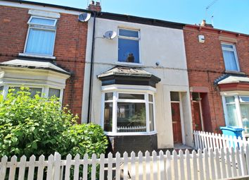 Thumbnail 2 bed terraced house for sale in Henley Avenue, Hull