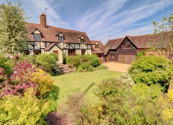 Thumbnail 4 bed detached house for sale in Uphampton, Ombersley, Droitwich