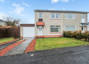 Thumbnail 3 bed semi-detached house for sale in Henderson Court, East Calder, Livingston