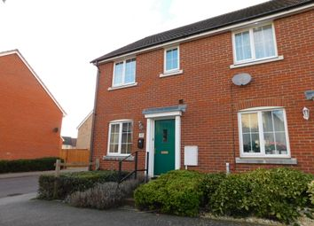 Thumbnail 3 bed semi-detached house for sale in Shearwater Way, Stowmarket