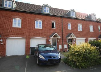 Thumbnail Town house for sale in Bridgewater Road, Burton-On-Trent