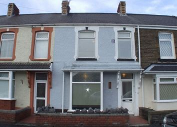 Thumbnail 3 bed terraced house to rent in Fern Street, Cwmbwrla, Swansea