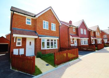 Thumbnail 3 bed detached house for sale in Lewry Close, Botley, Southampton