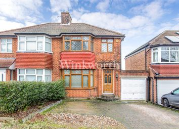 3 bed semi-detached house for sale in Curthwaite Gardens, Enfield, Hertfordshire EN2
