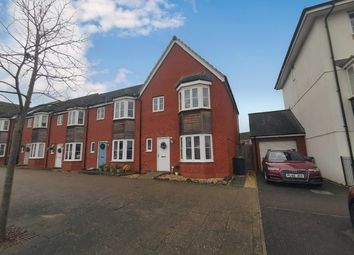 Thumbnail 3 bed end terrace house for sale in River Plate Road, Exeter