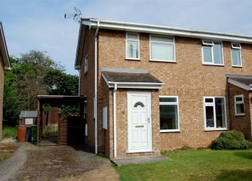 Thumbnail 2 bed semi-detached house for sale in St. Lawrence Way, Gnosall, Stafford