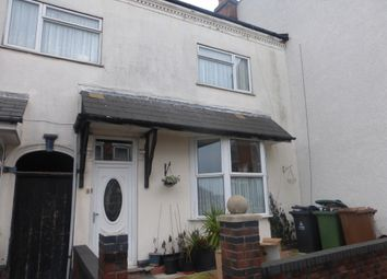 Thumbnail 5 bed terraced house for sale in Mount Street, Walsall