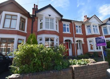 Thumbnail 3 bed terraced house for sale in Gregory Avenue, Coventry