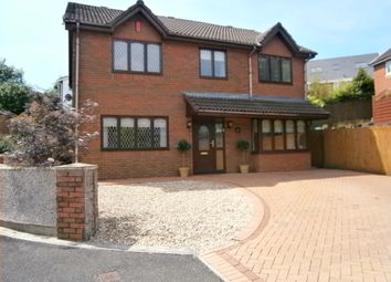 Thumbnail 5 bed detached house for sale in Gellideg Close, Maesycwmmer, Caerphilly