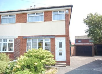 Thumbnail 2 bed semi-detached house for sale in Mooretree Drive, Blackpool