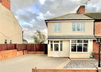 Thumbnail 3 bed semi-detached house for sale in Littlemoor Lane, Newton, Alfreton