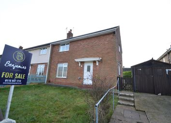 Thumbnail 3 bed semi-detached house for sale in Intake Road, Keyworth, Nottingham