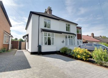Thumbnail 3 bed semi-detached house for sale in Spinney Hill, Addlestone, Surrey