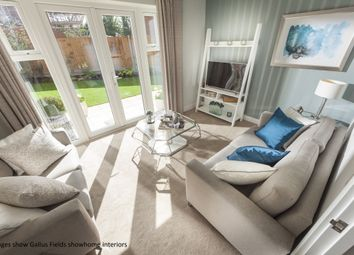 Thumbnail 2 bed semi-detached house for sale in Plot 13, Heath Farm, Holt