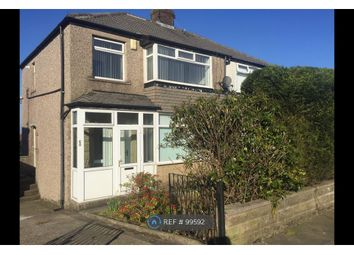 Thumbnail 3 bed semi-detached house to rent in Kenley Parade, Bradford