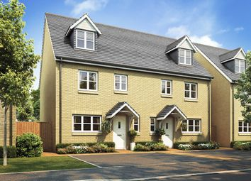 "Thumbnail 4 bedroom semi-detached house for sale in ""The Leicester"" at Heath Road, Coxheath, Maidstone"