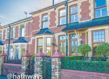 Thumbnail 3 bed terraced house for sale in Brooklands Terrace, Pontnewydd, Cwmbran