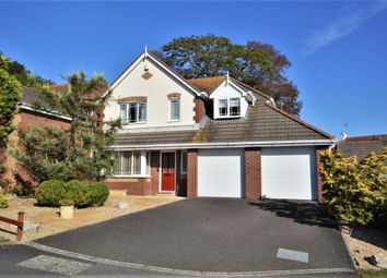 Thumbnail 4 bed detached house for sale in Ryalls Court, Seaton, Devon