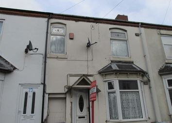 Thumbnail 3 bedroom terraced house to rent in Walter Street, West Bromwich