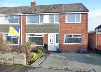 Thumbnail 4 bed semi-detached house for sale in Meadowcroft Avenue, Catterall, Preston