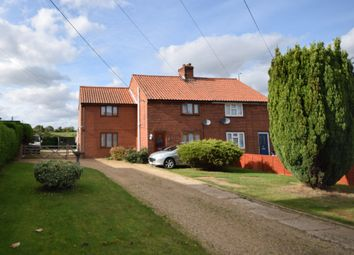 Thumbnail 3 bed semi-detached house for sale in Church Road, Snape, Saxmundham