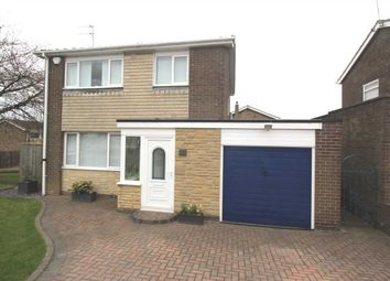 Thumbnail 3 bed detached house for sale in Totnes Drive, Parkside Grange, Cramlington