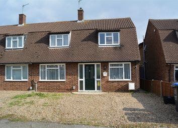 Thumbnail 2 bedroom semi-detached house for sale in Puttocks Drive, Welham Green, North Mymms, Hatfield, Hertfordshire