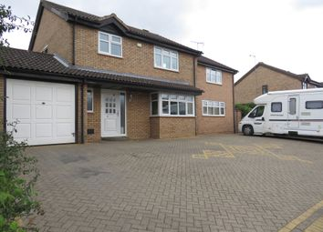 Thumbnail 5 bedroom detached house for sale in Cantle Avenue, Downs Barn, Milton Keynes