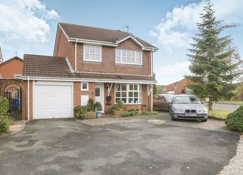 Thumbnail 4 bed detached house for sale in Stephenson Drive, Perton, Wolverhampton