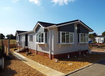 Thumbnail 2 bedroom mobile/park home for sale in Bedwell Park, Witchford, Ely