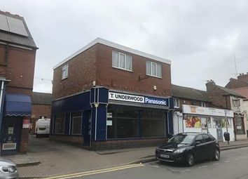 Thumbnail Retail premises for sale in High Street, Ibstock, Leicestershire