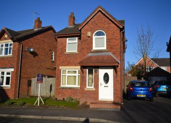 Thumbnail 3 bed detached house for sale in Normanby Close, Bewsey, Warrington