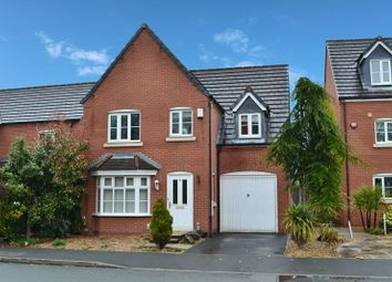 Thumbnail 4 bed detached house for sale in Chatsworth Fold, Ince, Wigan