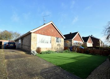 Thumbnail 3 bed detached bungalow for sale in Abbot Road, Bury St Edmunds