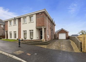 Thumbnail 3 bed semi-detached house for sale in Millreagh Green, Dundonald, Belfast