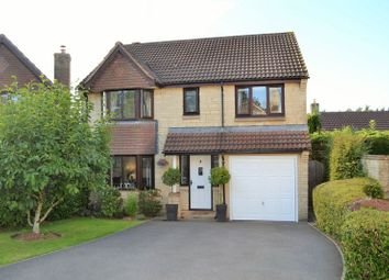 Thumbnail 4 bed detached house for sale in Sawyers Close, Chilcompton, Radstock