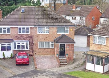 Thumbnail 3 bed semi-detached house for sale in Belloc Close, Crawley