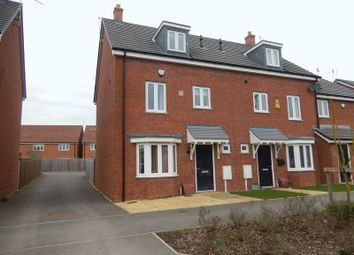 Thumbnail 4 bed end terrace house for sale in Monticello Way, Coventry